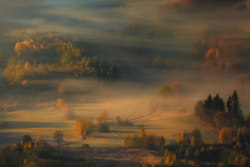 landscape,autumn,canon,mountains An Hymn To The Morning II фото превью