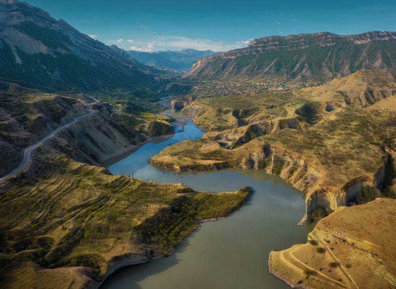 дагестан Дагестан. Река Каракойсу.photo preview