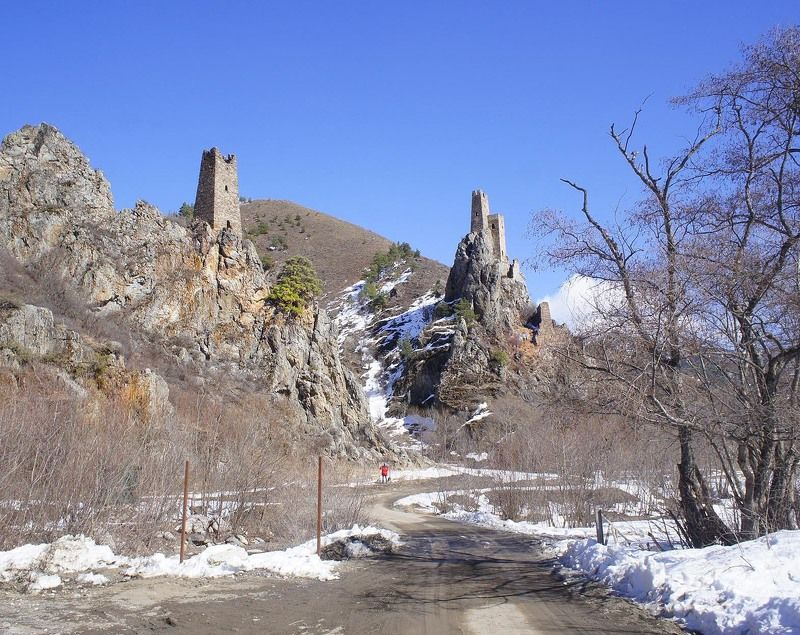 Россия, Кавказ, Ингушетия, Вовнушки, башни, #rtgtv Стражи горphoto preview