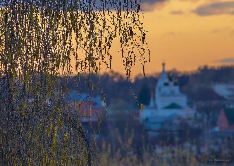 кострома Апрельский вечерphoto preview