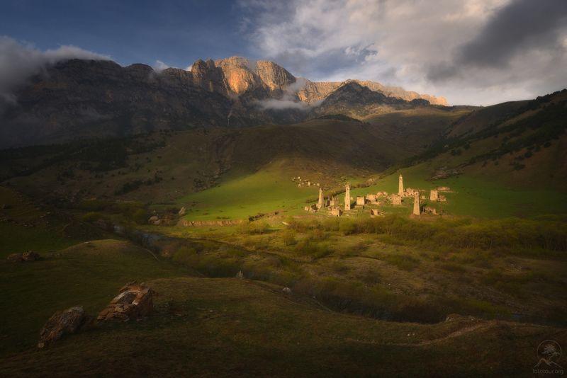 пейзаж, природа, горы, ингушетия Весенняя Ингушетияphoto preview