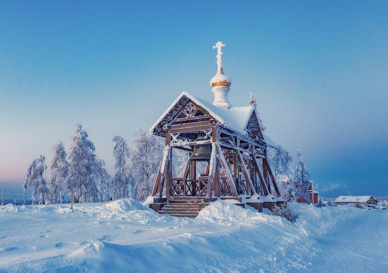 белогорье, белогорский монастырь, зима, пермский край Белогорьеphoto preview