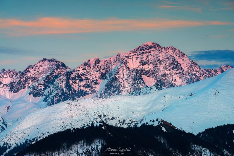 #rock #mountain #mountains #tatras #poland #landscape #sunset #spring Brushed with light.photo preview