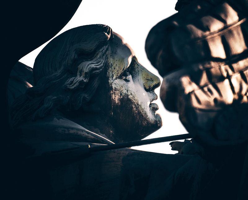 вверх, взгляд, глаза, профиль, скульптура, скульптуры look to the skyphoto preview