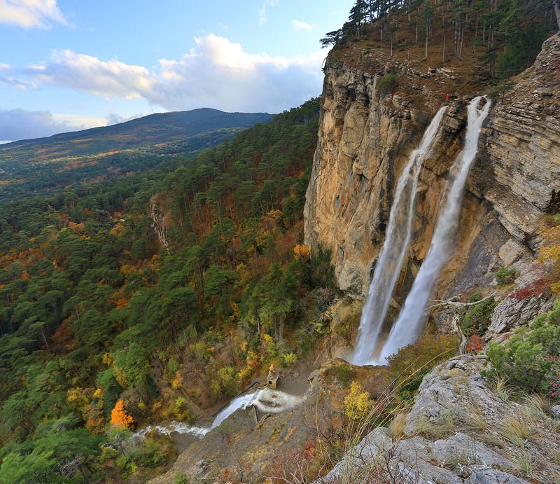 учан-су, водопад учан-су, ай-петри, водопад, заповедник, крым, ялта, пейзажи крыма Водопад Учан-Суphoto preview