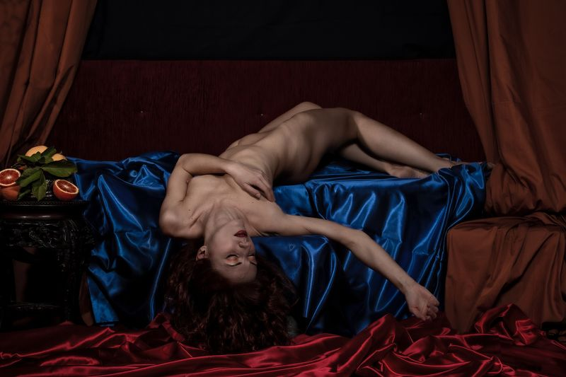 portrait, fine nude, nude, nudeart, body, painting, female, pose the sleeperphoto preview