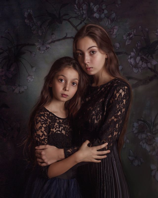 pictoric portrait fineart sisters Sisters Lovephoto preview