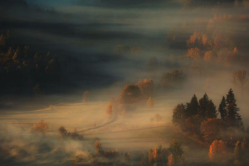 landscape,autumn,canon,mountains The Last Breath of Autumn фото превью