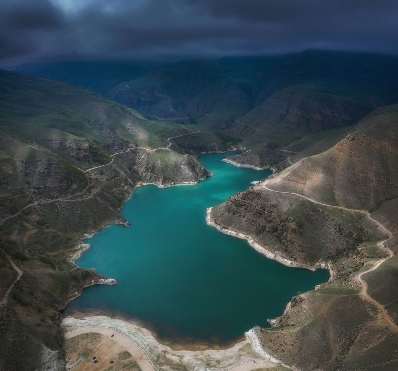 гижгит, озеро, кавказ, пейзаж Гижгитphoto preview