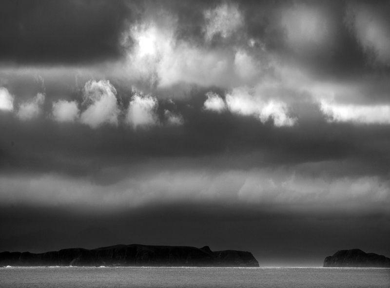 перспектива у воды Магелланов проливphoto preview