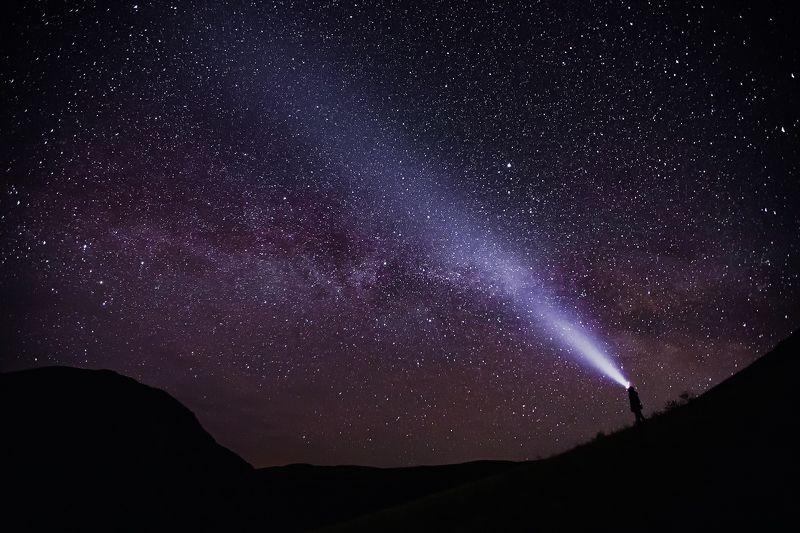 Млечный путь, звезды, свет, поход Путь к звёздамphoto preview