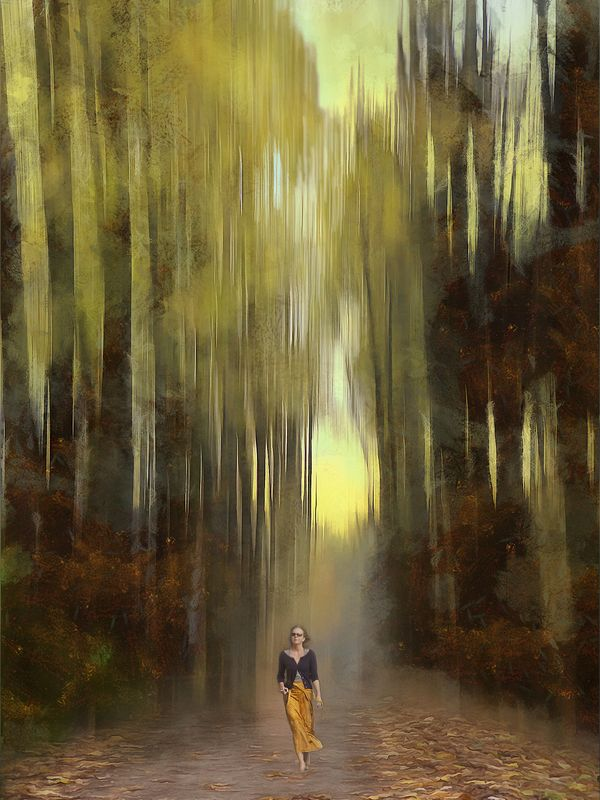 Осень тихою вдовой вступает в пестрый терем свой…photo preview