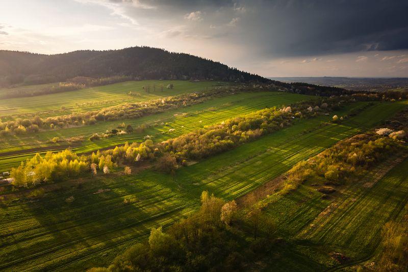 mountains, spring, sunset, poland Golden Hourphoto preview