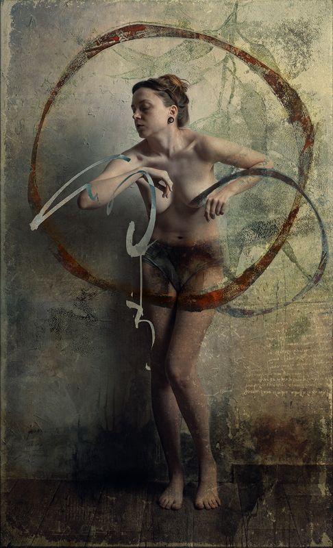 nude, ню., абстракция, портрет ---photo preview