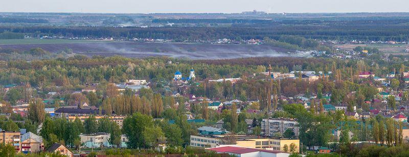 усмань, липецкая область, панорама, высота photo preview