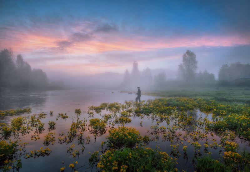 Утро рыбака...photo preview
