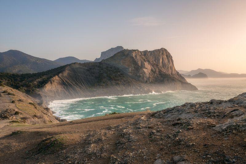 Крым, Капчик, Новый свет, рассвет, пейзаж, природа, весна ***photo preview