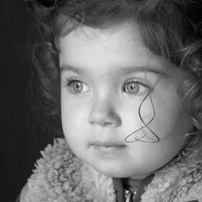 детский ч/б портрет Alaiaphoto preview