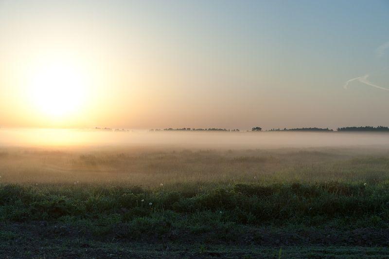 Утро туманное..photo preview
