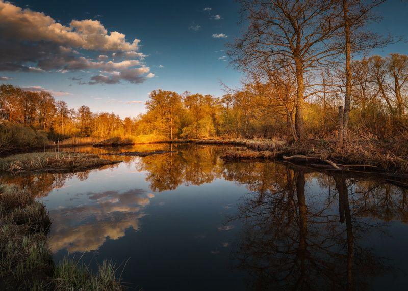 озеро, горы, лес, природа, закат, рассвет, красота, приключения, путешествие Магия майских закатовphoto preview