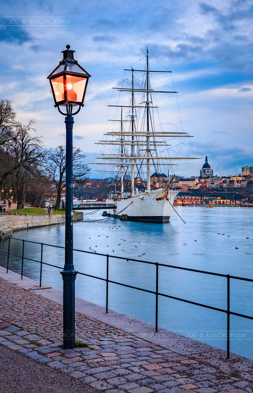 canon, color, postcard, picturesque, landmark, europe, sweden, stockholm, travel, urban, architecture, iconic, ship Классический Стокгольм / Stockholm typicalphoto preview