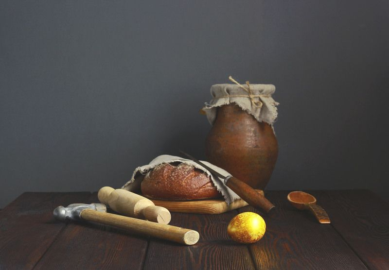 натюрморт, фотонатюрморт, сказка, золотое яичко, наталья казанцева Жили - были Дед и Бабаphoto preview