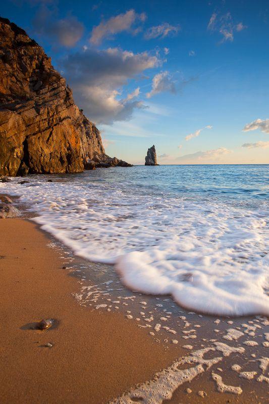 скала парус, ай-тодор, черное море, ялта, крым, ласточкино гнездо, море, пейзажи крыма Скала Парусphoto preview