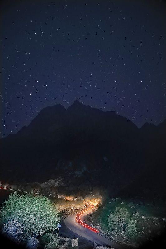 Россия, Кавказ, Ингушетия, Цей-Лоам, звёзды, #rtgtv Созвездие Близнецыphoto preview