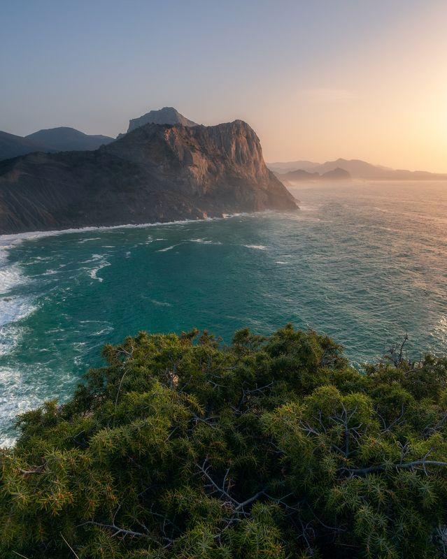Крым, Капчик, Новый свет, море, пейзаж, природа Крымский рассветphoto preview