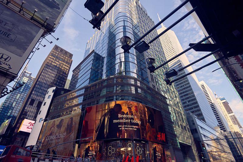 Нью Йорк, Таймс, город, архитектура Направлениеphoto preview