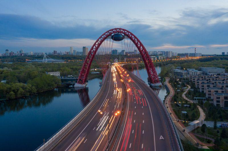 живописный, мост, москва, россия Живописный мост. Москва. Россияphoto preview