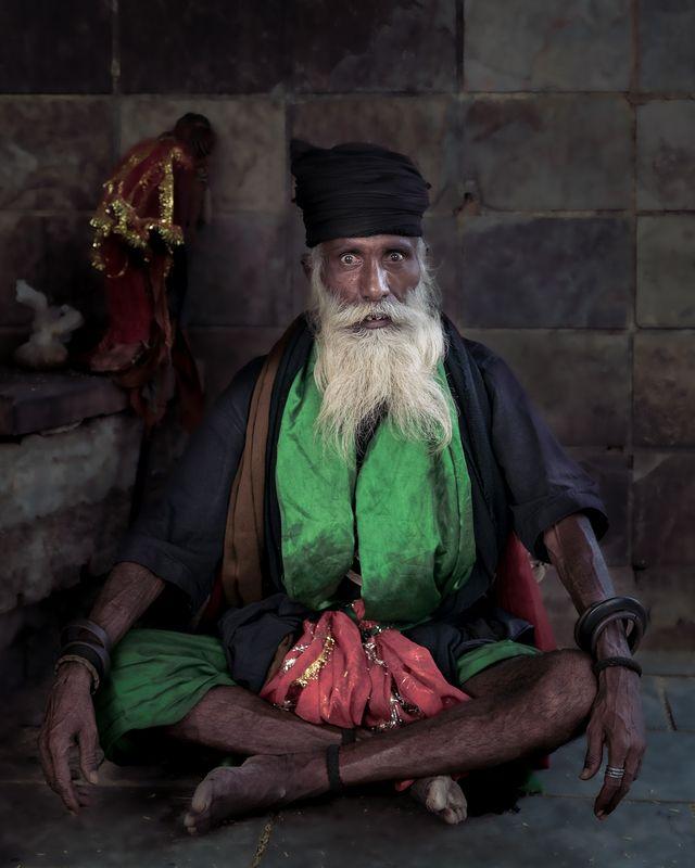 Sadhu from Varanasiphoto preview
