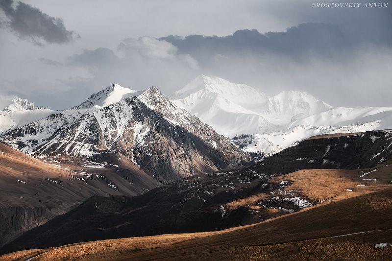 Горы, снег, фототур, Кавказ, свет, Апрель в горахphoto preview