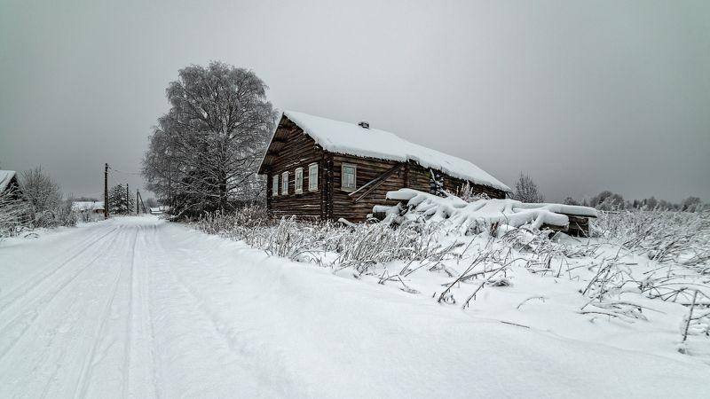 великий двор,вологодчина,кема,север,зима ***photo preview