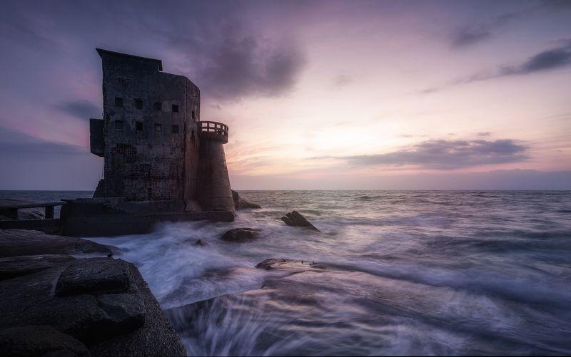 seascape, landscape, sunset, abandoned, Abandonedphoto preview