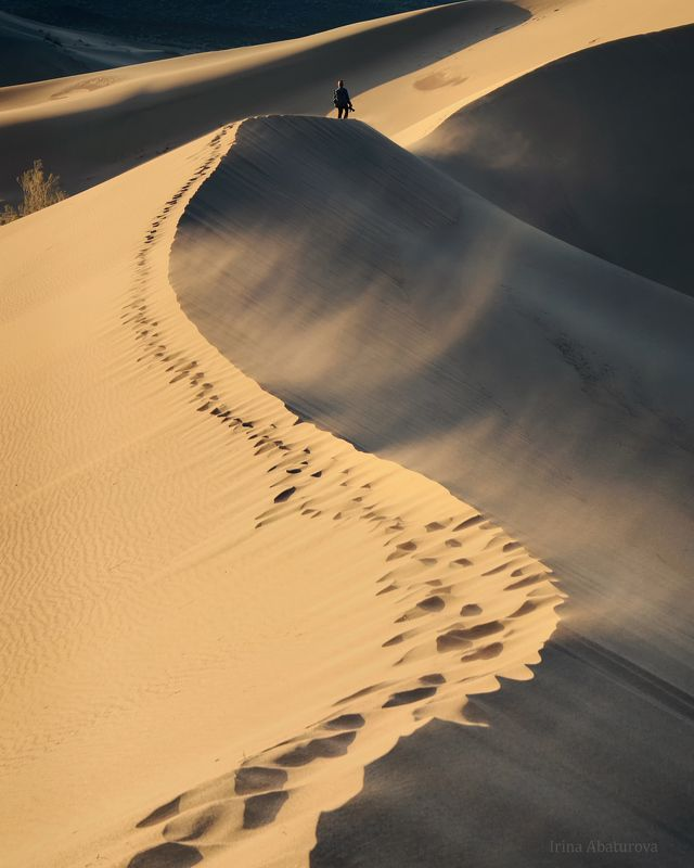 алтын-эмель, поющий бархан, казахстан, дюна, бархан, пустыня Ветерphoto preview