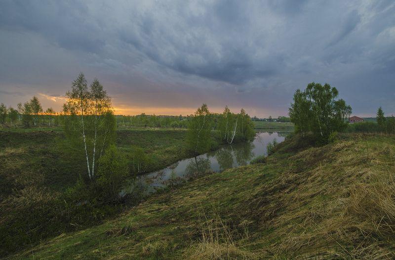большие байдики, пейзаж Грозовой фронтphoto preview
