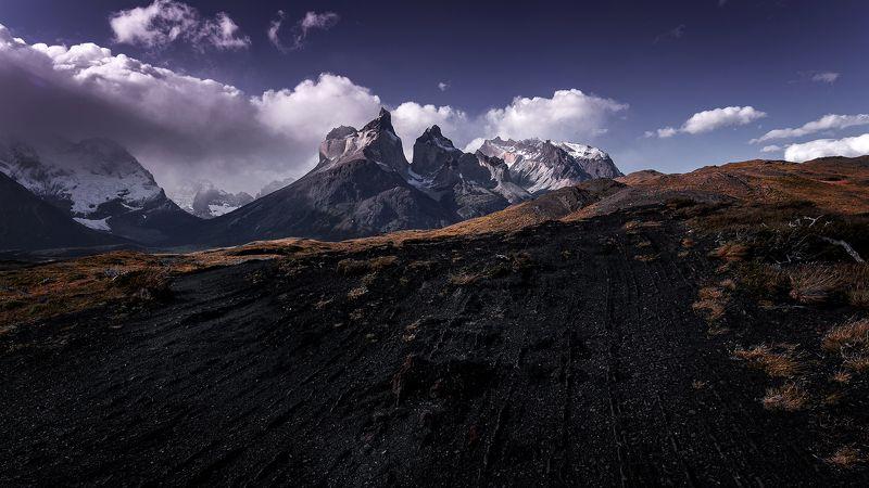 los cuernos, mountain, chile, landscape, patagonia Los Cuernosphoto preview