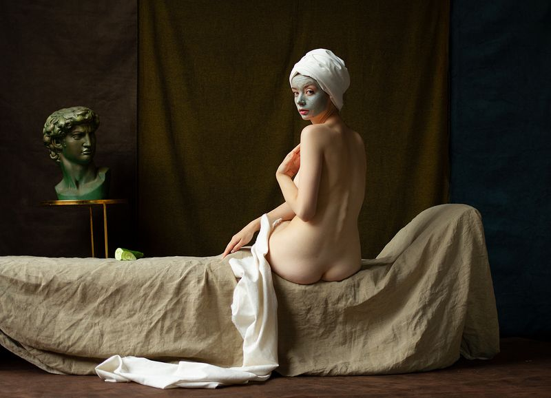 fine art nudes Mea culpaphoto preview