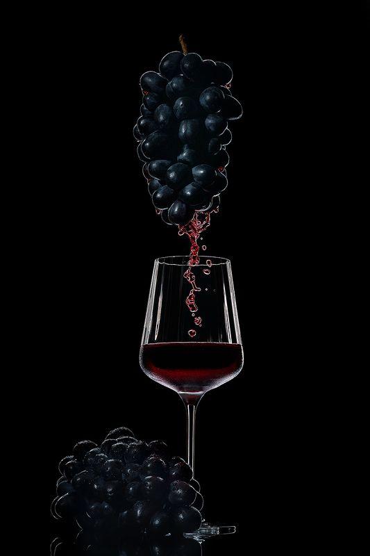 вино, виноград, красное, напиток, предметка Вино и виноградphoto preview