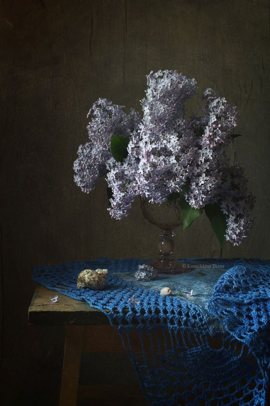 натюрморт, весна, цветы, сирень Вариации с букетом сирениphoto preview