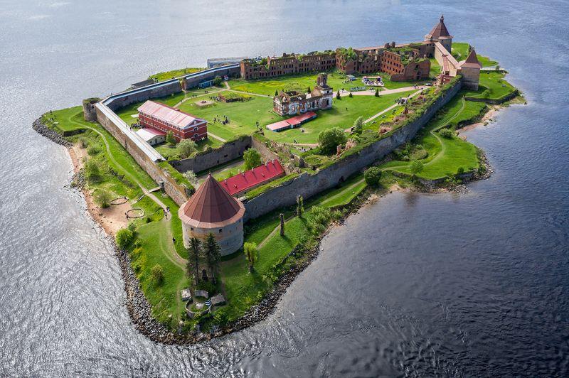 крепость, орешек, нева, ладожское, озеро, остров Крепость Орешекphoto preview