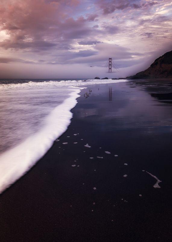 landscape, cityscape, bridge, fog, The Golden Gate Bridgephoto preview