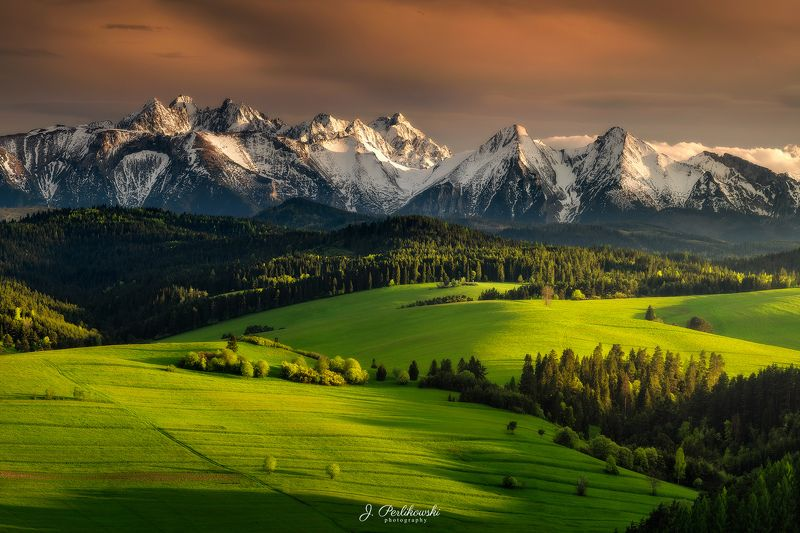 landscape, spring, mountains Spring vibesphoto preview