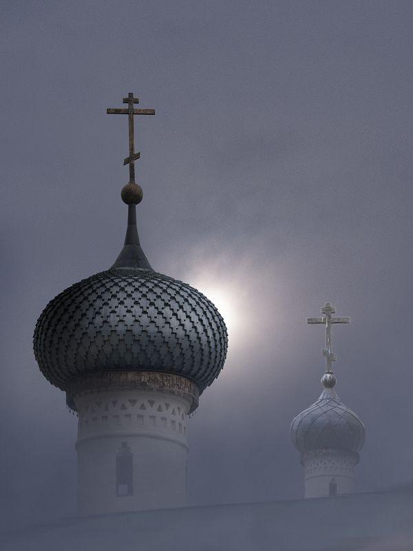 Купола Горицкого монастыряphoto preview