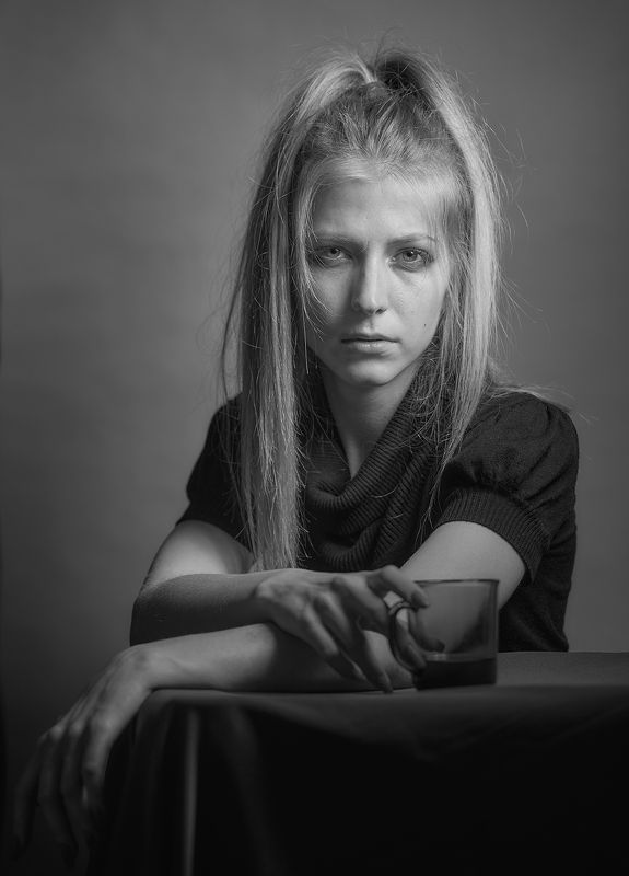 Черно белое настроениеphoto preview