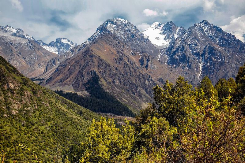 кыргызстан, горы Ала-Арчинские зарисовкиphoto preview