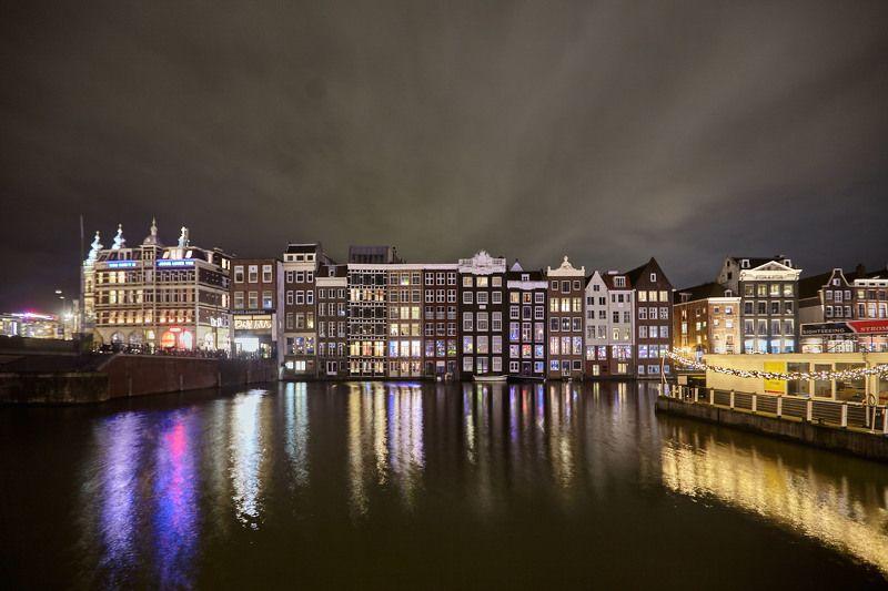 Ночной Амстердам…photo preview