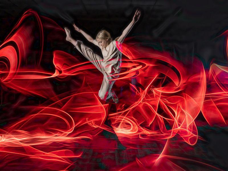 Танцы со светом фото превью