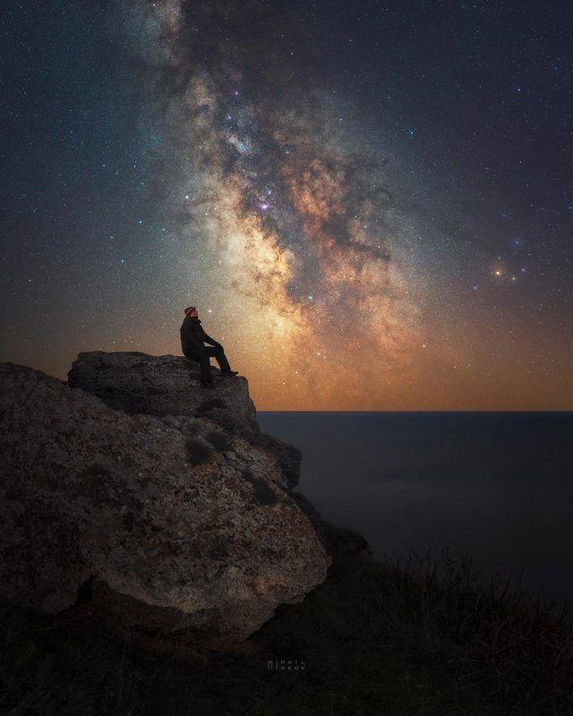 Milky Way Selfie photo preview
